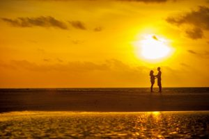 Perfect Sunset Shot In Hillarys – Couple was finally found