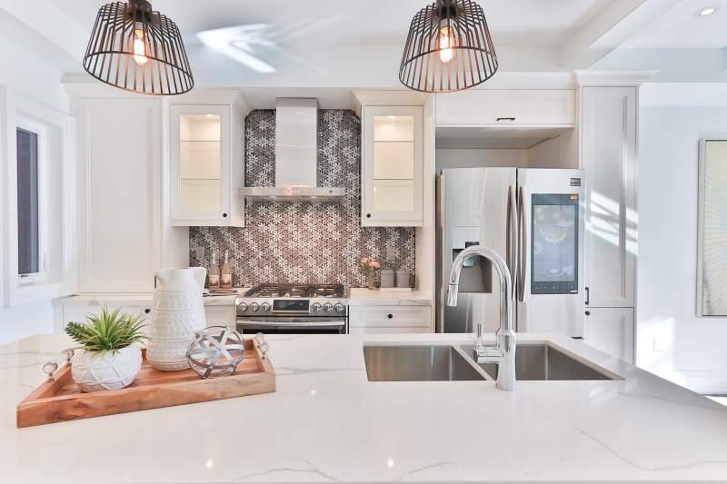 Designing a kitchen cabinet
